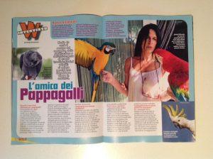 Intervista a Nadia Ghibaudo l'amica dei pappagalli