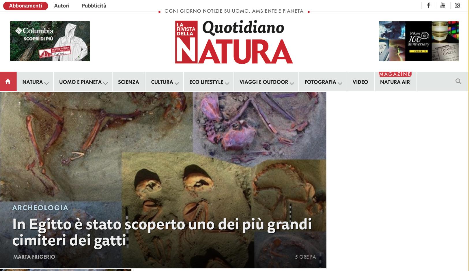 Quotidiano Natura